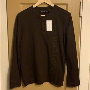 Calvin Klein Long Sleeve Pullover Small NWT